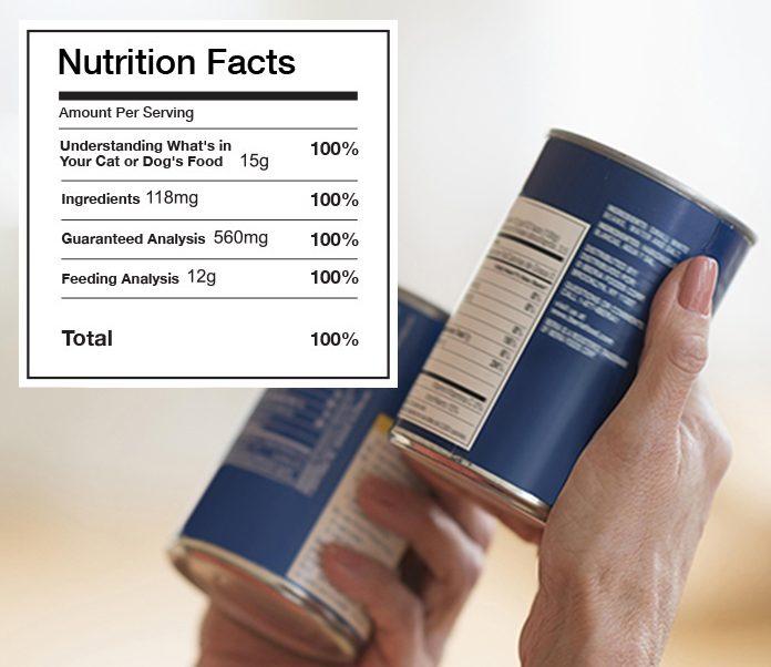 Decoding Pet Food Nutrition Labels-petsourcing