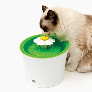 Catit Flower Cat Water Fountain-petsourcing