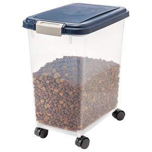 dog food, cat food, IRIS Airtight Food Storage Container-petsourcing