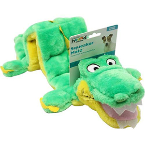 Dog Toy – Interactive Cuddly Gator Soft Toy for Dogs-petsourcing