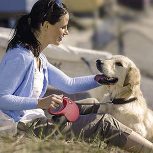 Flexi New Classic Retractable Dog Leash (Cord)-petsourcing