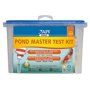 API POND MASTER TEST KIT Pond Water Test Kit 500-Test-petsourcing